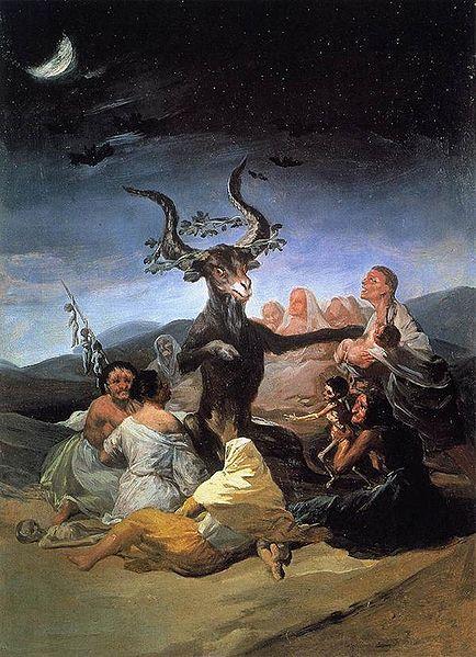 O Sabá das Feiticeiras (Goya)